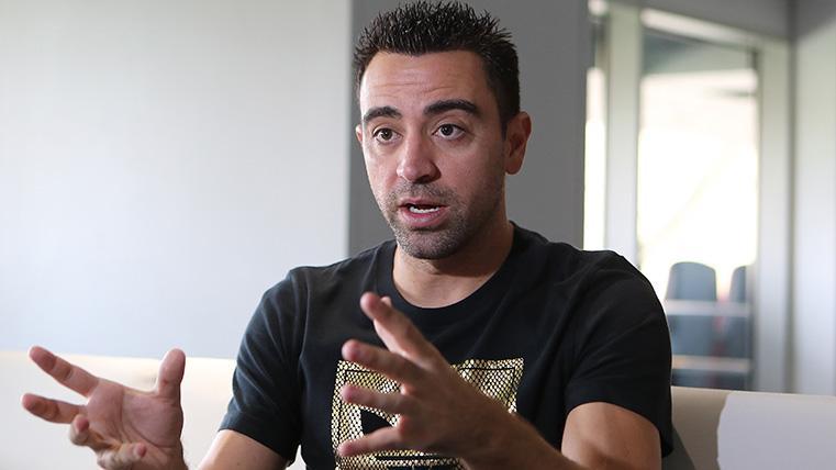 """Xavi es optimista: """"He visualizado varias veces la final y veo al Barça campeón"""""""