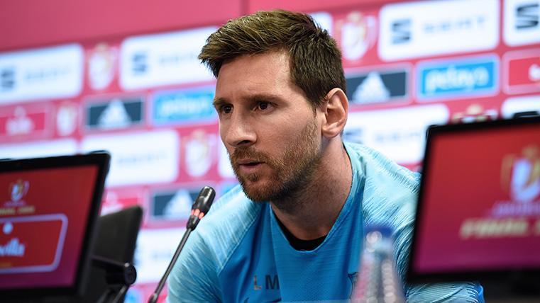 """Messi no quiso mojarse sobre los posibles fichajes: """"No opino de Griezmann"""""""