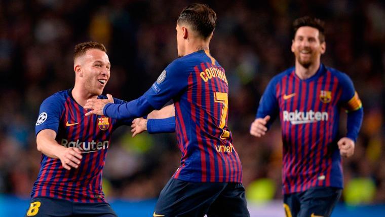 El salto de Semedo, Arthur y Coutinho: De la enfermería al once titular del Barça