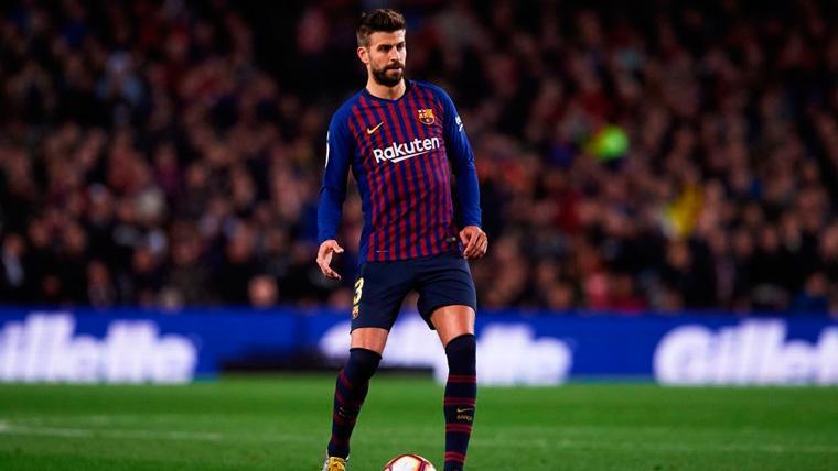 Intervención magistral de Piqué para salvar al Barça de un gol de Rodrigo