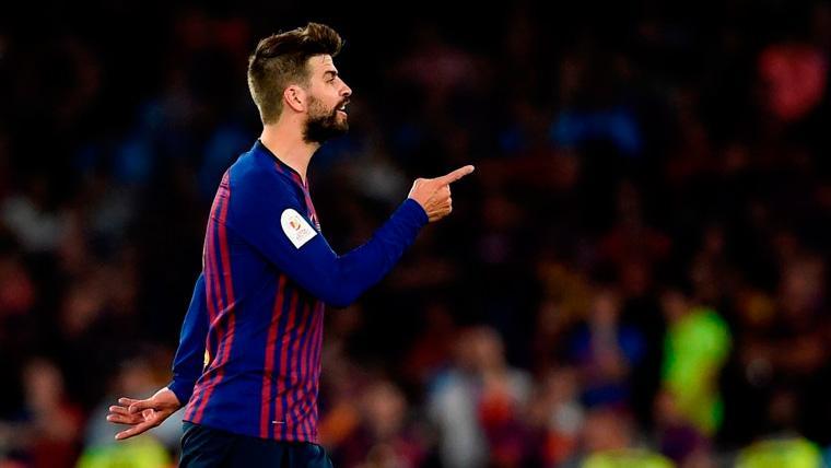 Piqué no busca excusas e indica el camino del Barça tras un mal final de temporada