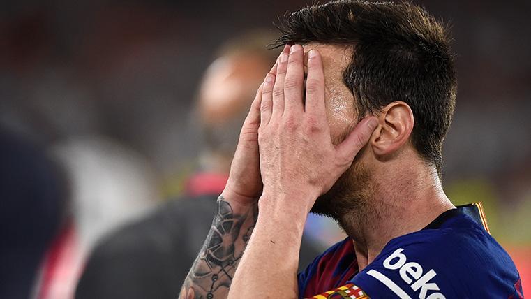 ¿Alguien pedirá perdón a Messi? Desolado tras dos fracasos consecutivos en el Barça