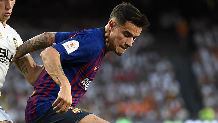 Coutinho volvió a decepcionar en el que pudo haber sido su último partido con el Barça
