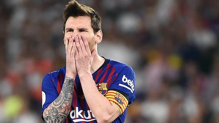 Messi volvió a batir otro récord, pero se quedó sin el premio gordo de la Copa