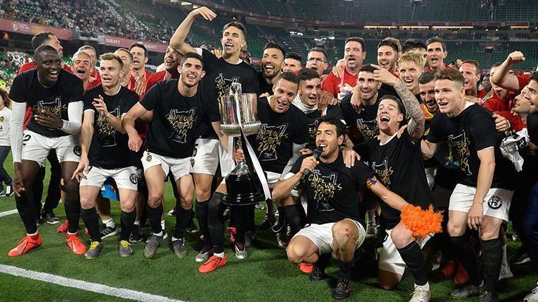Así queda el palmarés de la Copa del Rey tras la victoria del Valencia