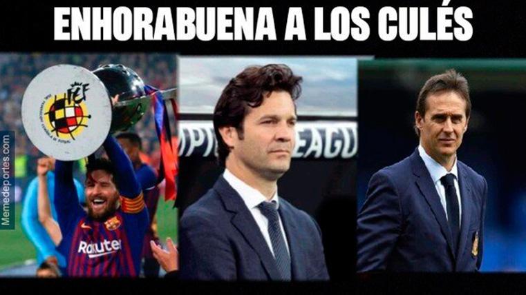 Estos son los mejores memes de la final de Copa entre el FC Barcelona y el Valencia