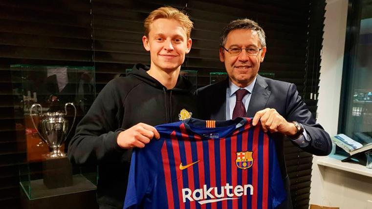Frenkie de Jong, un soplo de aire fresco que el Barça necesita