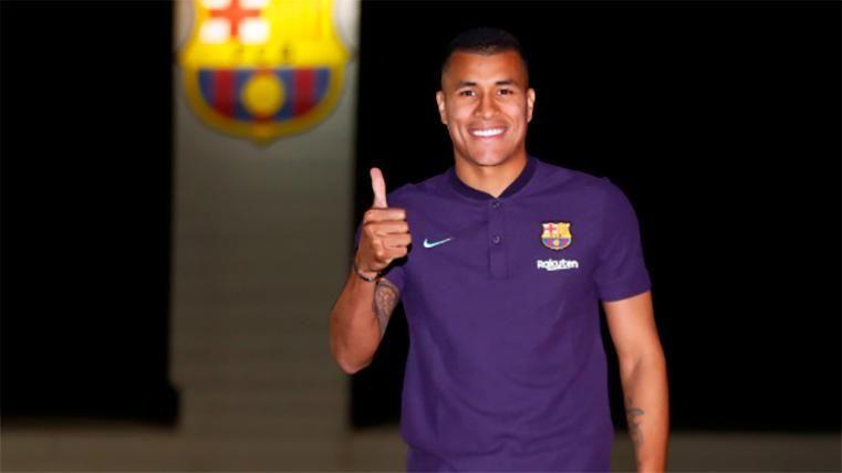 Jeison Murillo, el único jugador del Barça que ha hecho doblete