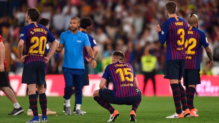 El Barça es el tercer equipo europeo con menos derrotas en la temporada 2018-19