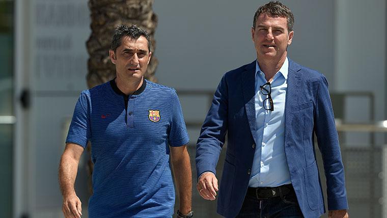 Robert Fernández defiende a Ernesto Valverde y atiza al Barça