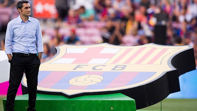 El Barça desmiente los rumores sobre el despido inmediato de Valverde