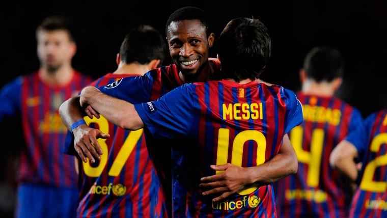 Keita recuerda con cariño sus Champions con el Barça y se rinde a Messi
