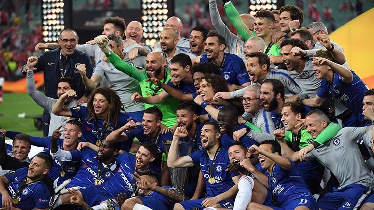 El Chelsea de Hazard, campeón de la UEFA Europa League a costa del Arsenal (4-1)