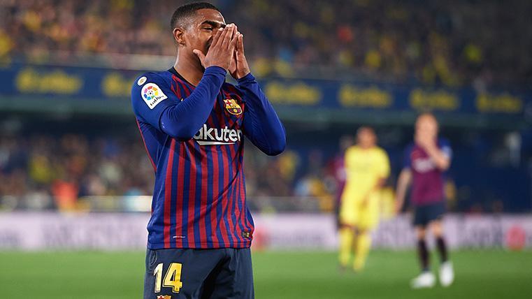 Desvelan una reunión Malcom-Barça para desbloquear su situación en junio