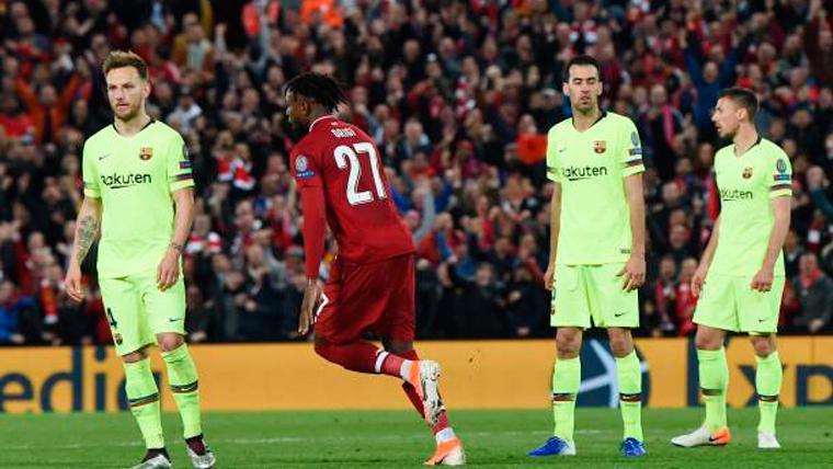 """""""El derrumbe del Barça en la eliminatoria contra el Liverpool fue físico"""""""