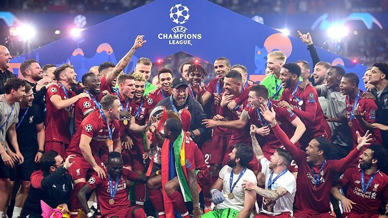 Así queda el palmarés de la Champions League: El Liverpool echa al Barça del podio
