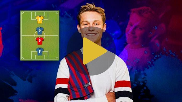 De Jong destaca a tres históricos del Barça en la elección de sus leyendas favoritas
