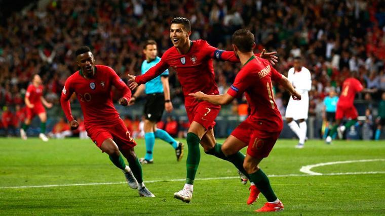 Un 'hat-trick' tardío de Cristiano mete a Portugal en la final de la UEFA Nations League (3-1)