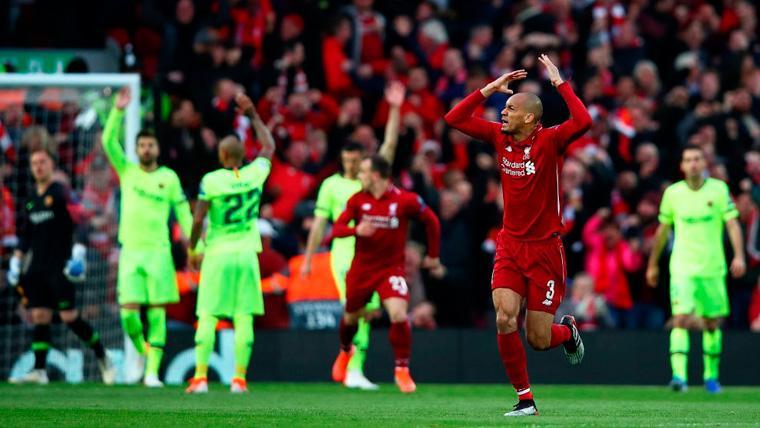 El Liverpool-Barça advierte a los azulgrana sobre la peligrosa veteranía de su plantilla