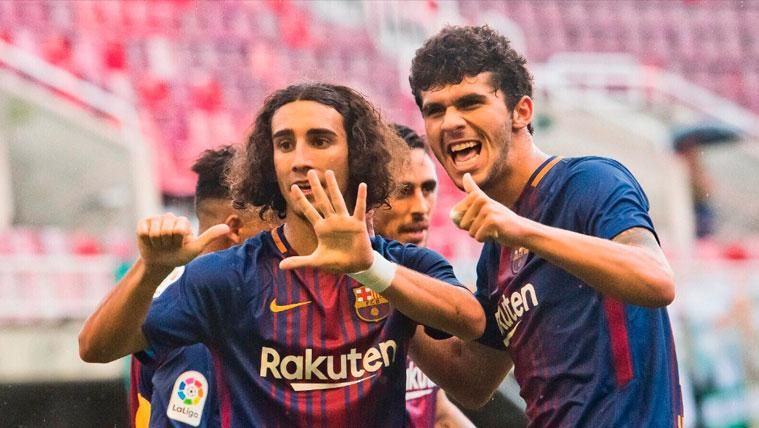 Aleñá y Cucurella se caen de la lista de España para el Europeo Sub21