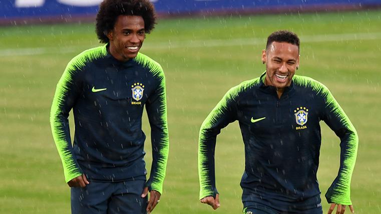 Palo para Malcom y Vinicius: Willian relevará a Neymar