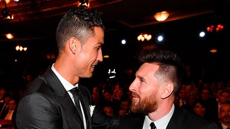 Shaqiri habló sobre Cristiano y Messi