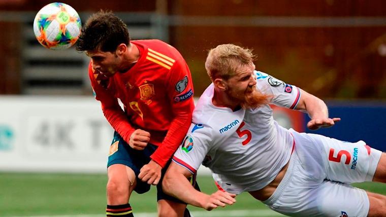 Las rotaciones de la selección española devolvieron a Sergi Roberto al centro del campo