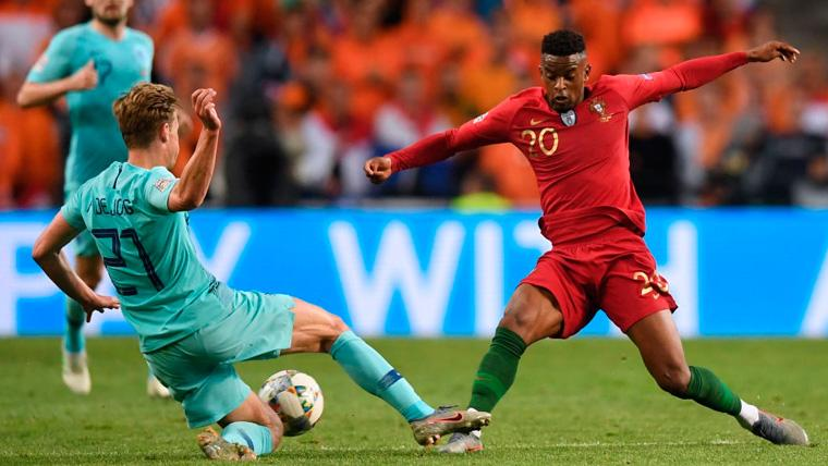 Semedo cierra la temporada con una gran final en la Nations League y un futuro incierto