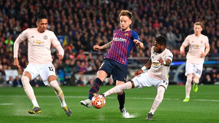 El Manchester United pregunta al Barça el precio de Ivan Rakitic