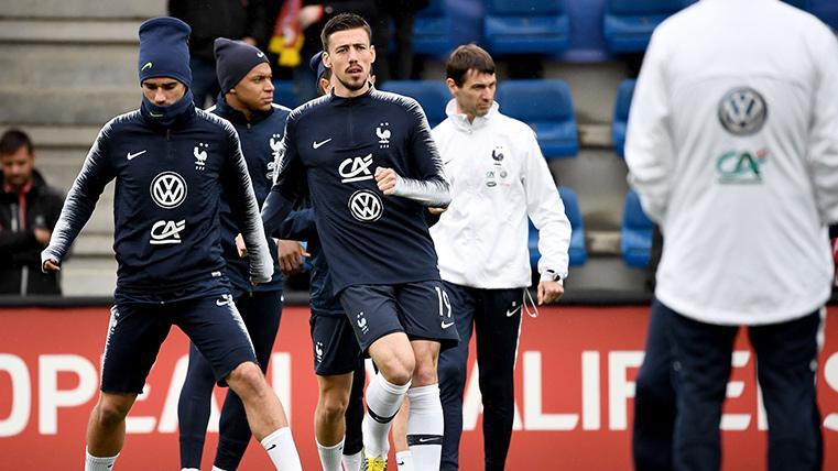 Lenglet debuta con Francia en la goleada contra Andorra (0-4)