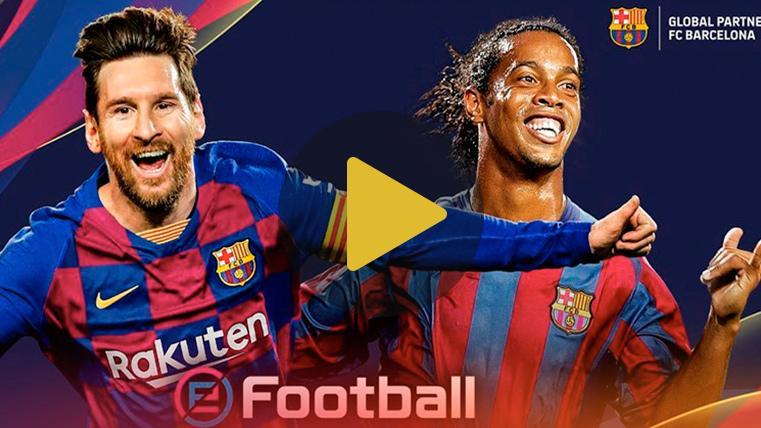 """Messi, encantado de aparecer en la portada del PES 2020: """"Me hace mucha ilusión"""""""