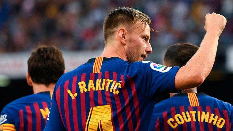 Ernesto Valverde tiene muy claro que cuenta con Ivan Rakitic