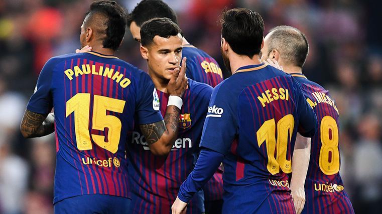 """Paulinho, en clave Barça: """"Coutinho es un crack, un jugador diferente"""""""
