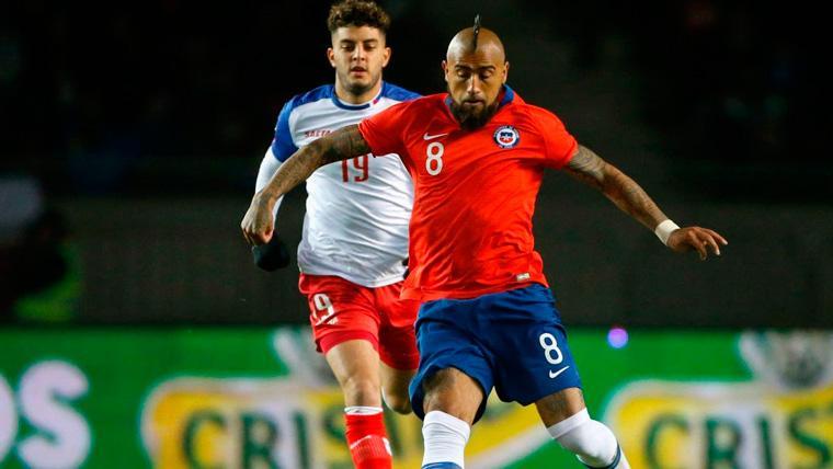 Una encuesta coloca a Arturo Vidal en el once histórico de la Copa América