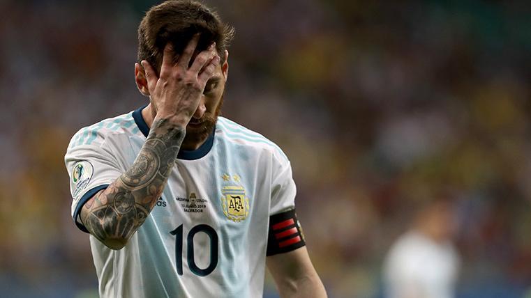 Colombia tumba a Argentina en el debut de Messi en la Copa América (0-2)