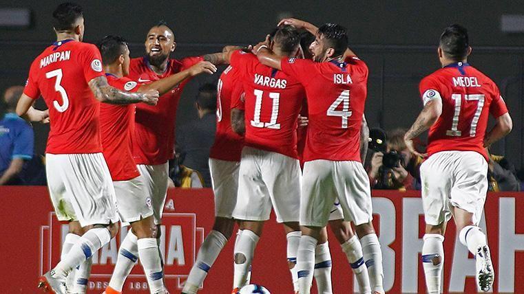 La Chile de Arturo Vidal se da un festín contra Japón en su estreno en la Copa América (4-0)