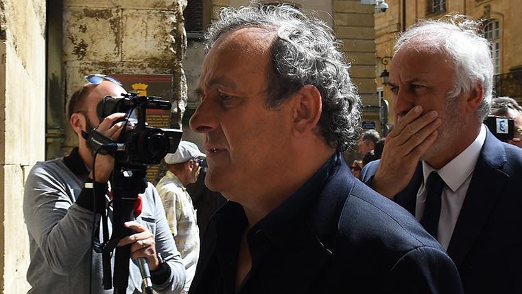 Detienen a Platini en Francia por corrupción en la elección del Mundial de Qatar 2022