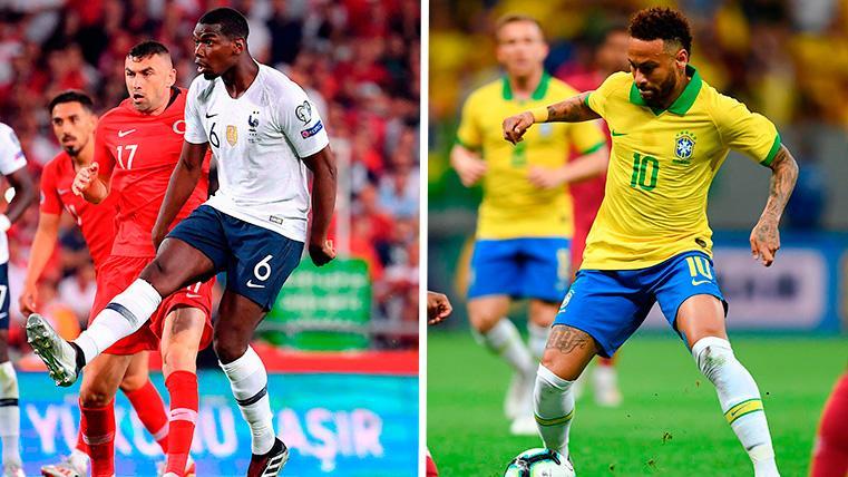 El Real Madrid deberá decidirse entre ir a por Pogba o a por Neymar