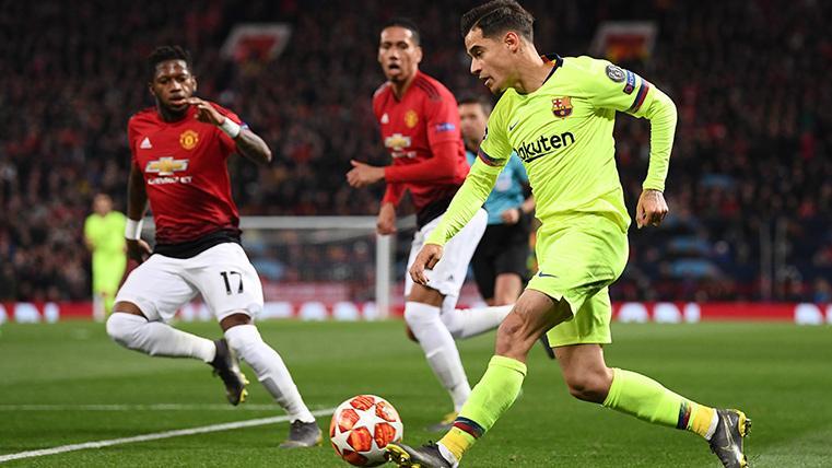 Coutinho se aleja del Manchester United y se acerca al PSG