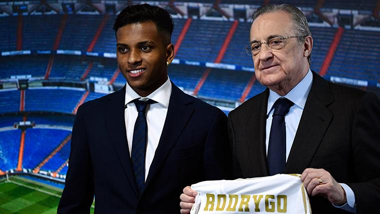 """Rodrygo Goes, nuevo fichaje del Real Madrid: """"Yo no me comparo con Neymar"""""""