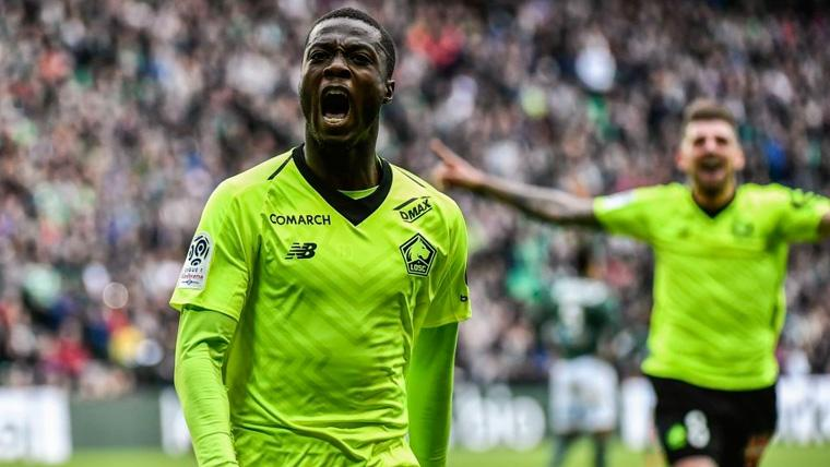 Pépé, del Lille, prioridad del Atlético, Conforme France Football