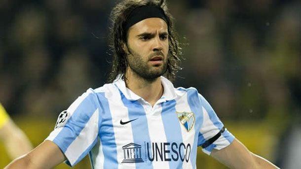 Sergio S�nchez se quej� del arbitraje del M�laga-Madrid