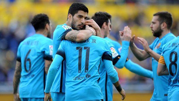 Suárez y Neymar volvieron a salvar al FC Barcelona (1-2)