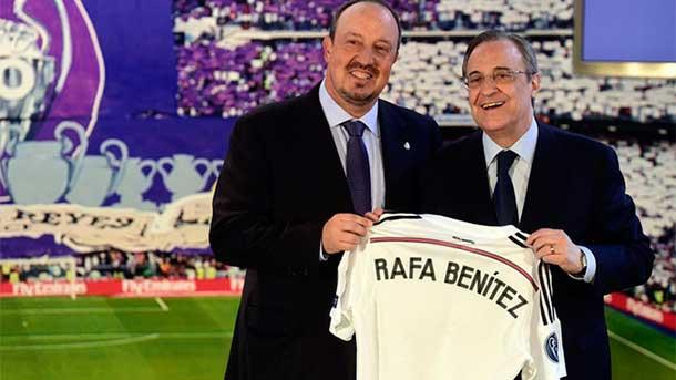 Benítez puede perder un millón de euros tras criticar a Florentino Pérez