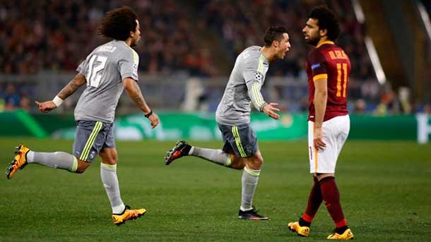 El Madrid rompió el corazón de la Roma en el 2º tiempo (0-2)
