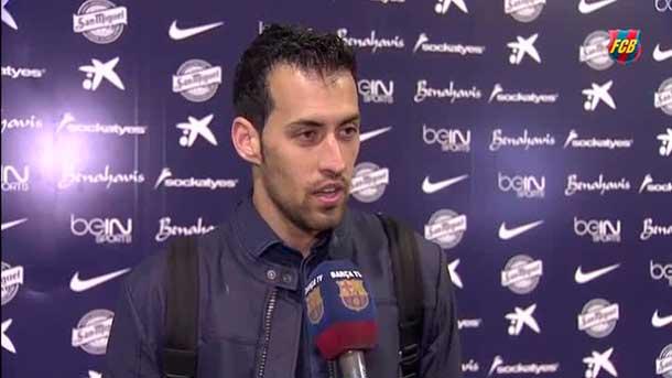 """Sergio Busquets, sobre el partido: """"As� se ganan las Ligas"""""""