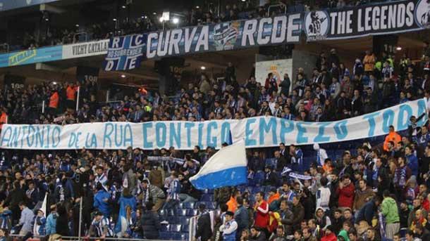 La LFP denuncia las pancartas del Espanyol-FC Barcelona
