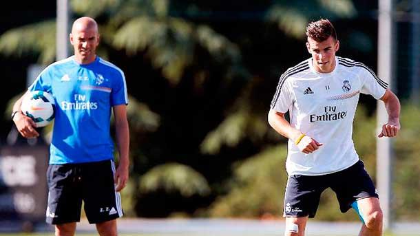 """El """"cabreo"""" de Gareth Bale, desvelado por Zinedine Zidane"""