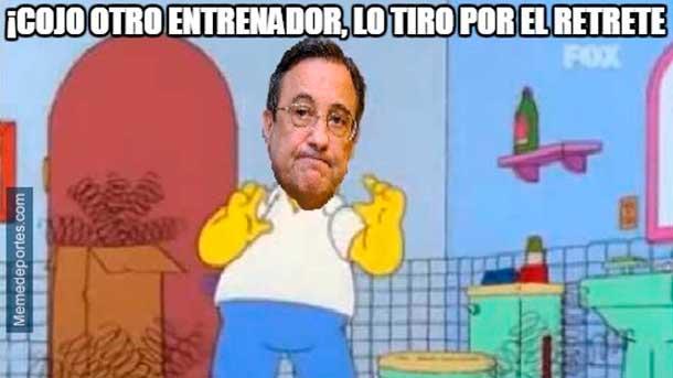 """Los """"memes"""" del despido de Rafa Benítez del Real Madrid"""