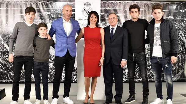 OFICIAL: Zinedine Zidane, nuevo entrenador del Real Madrid